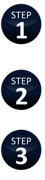 Steps 1, 2, 3